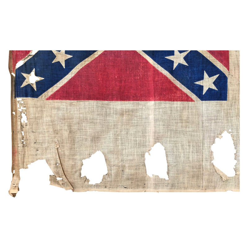 Antique Post Civil War Reunion Flag in the Third National Pattern Parade