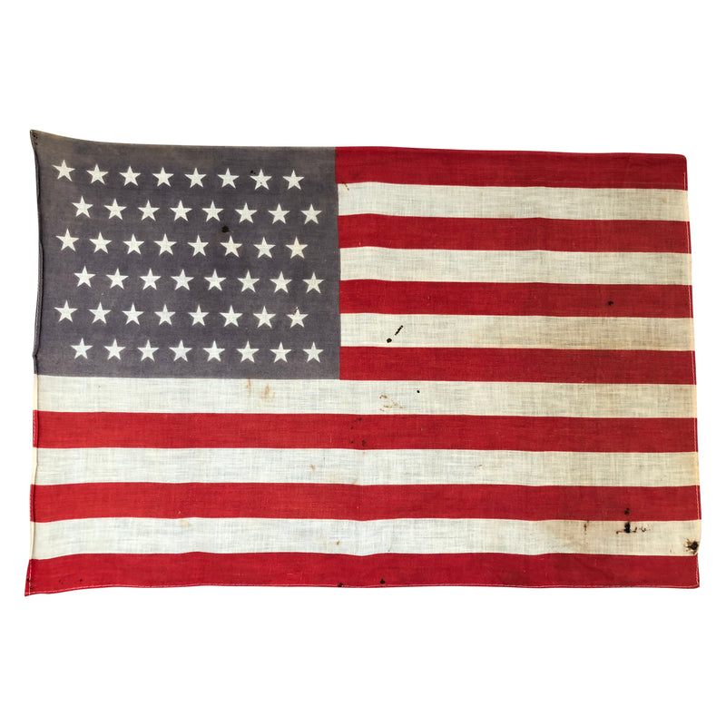 Vintage Antique 48 Star Flag - WWI ERA FLAG