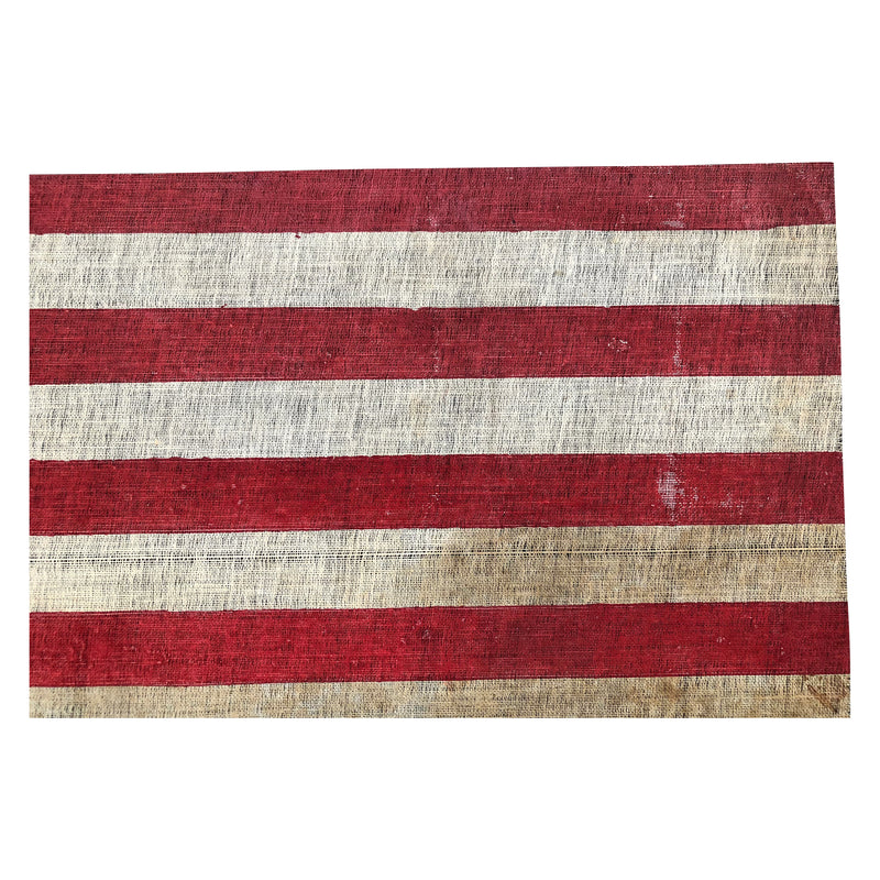 Antique Vintage 45 Star Flag, Rare Formation with Notched Corners - Utah Statehood