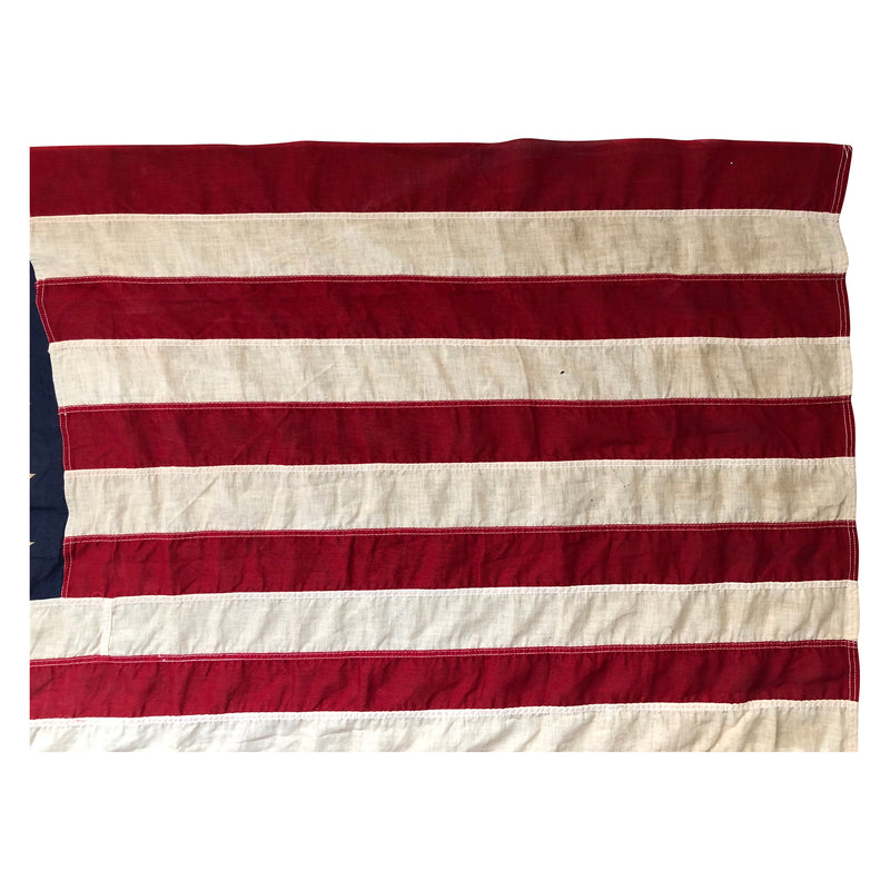 48 Star Flag, Vintage American Flag Valley Forge Flag