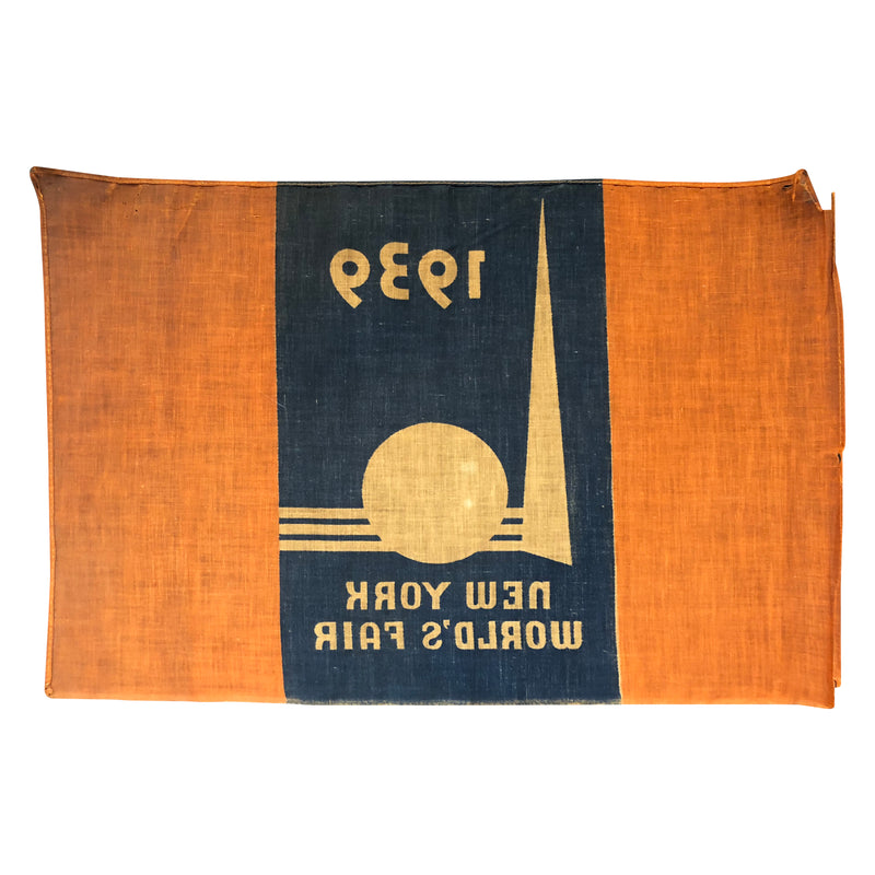 Vintage Authentic 1939 New York Worlds Fair Official Flag