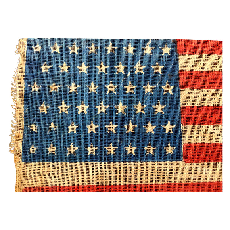 Antique Vintage 46 Star Flag
