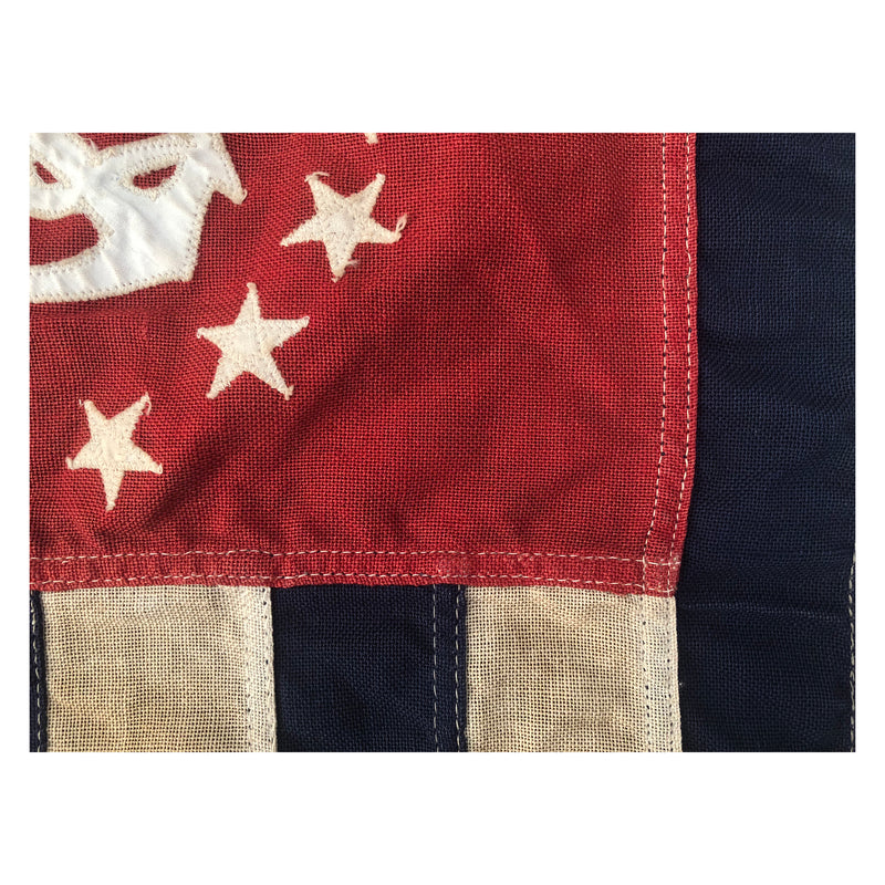 U.S. Power Squadron Ensign Anchor 13 Stars - Wool Flag