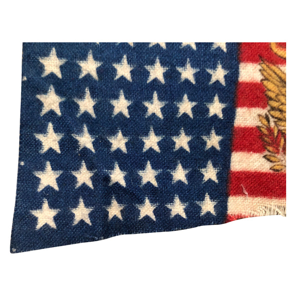 48 Star Pennant Flag, 1950s Stars & Stripes Pennant