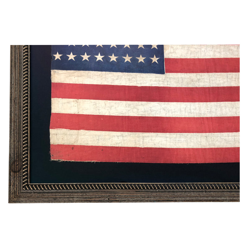 44 Star Flag with Notched Star Pattern - Large Size - Wyoming Statehood