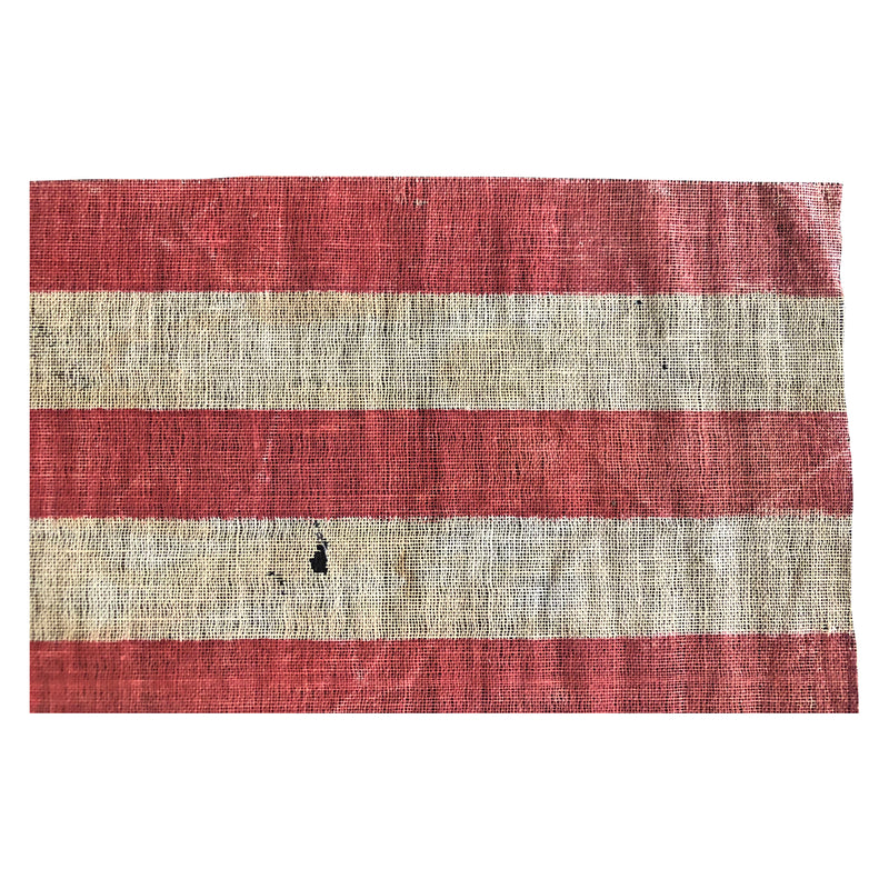 Antique Vintage 45 Star Flag, Rare Star Formation with Notched Corners - Utah Statehood