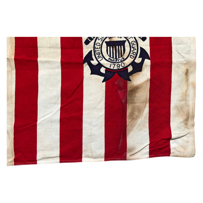 Vintage U.S. Coast Guard Ensign Flag No. 4 1915-1953