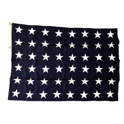US Union Jack 48 Star Flag - Size 7 - Navy Jack Ship Flag