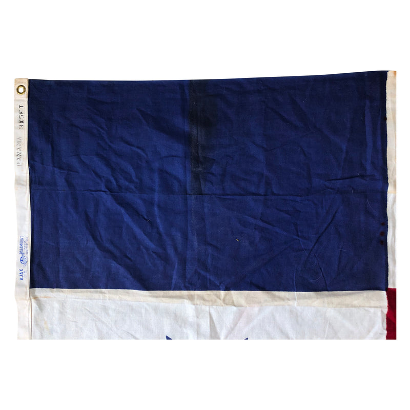 Vintage Panama Flag made by Ajax Paramount Flag Co.