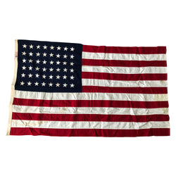 48 Star Flag Defiance US Flag - Two Ply Cotton Bunting