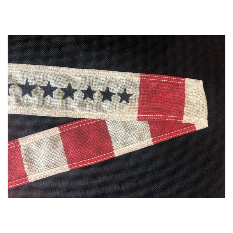 WWII 1950s US Coast Guard 13 Star Commissioning Pennant