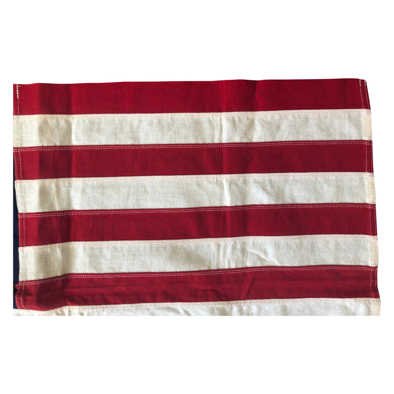 Vintage 49 Star Flag - Sewn Stars and Stripes
