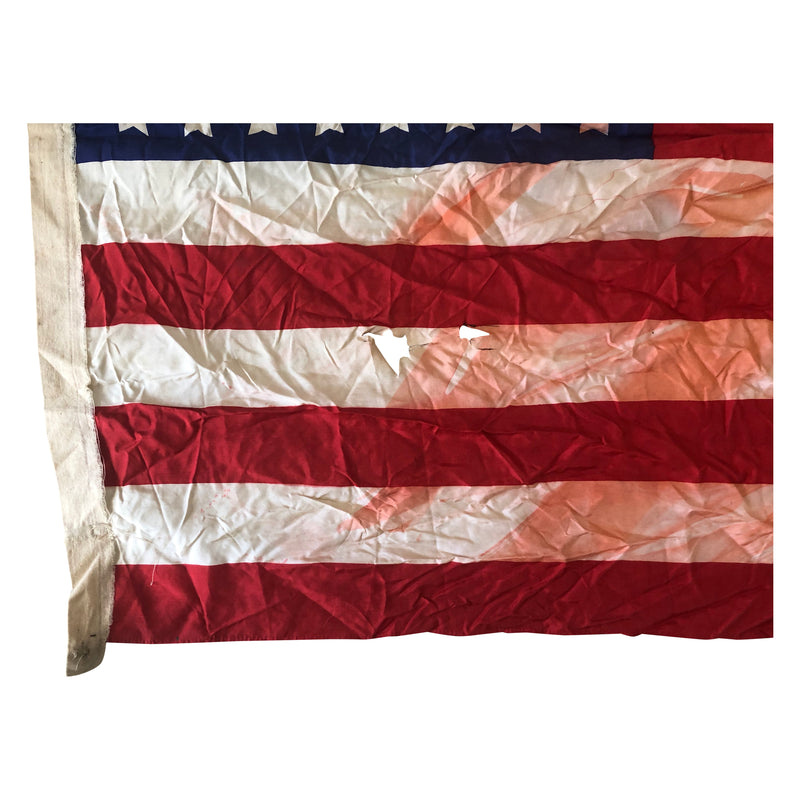 Vintage 48 Star Flag Silk