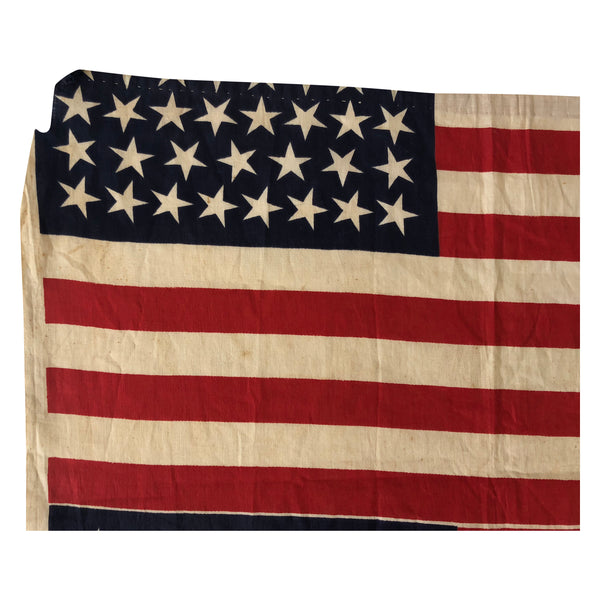 46 Star Flag with Ordered Change in Position Point Uncut