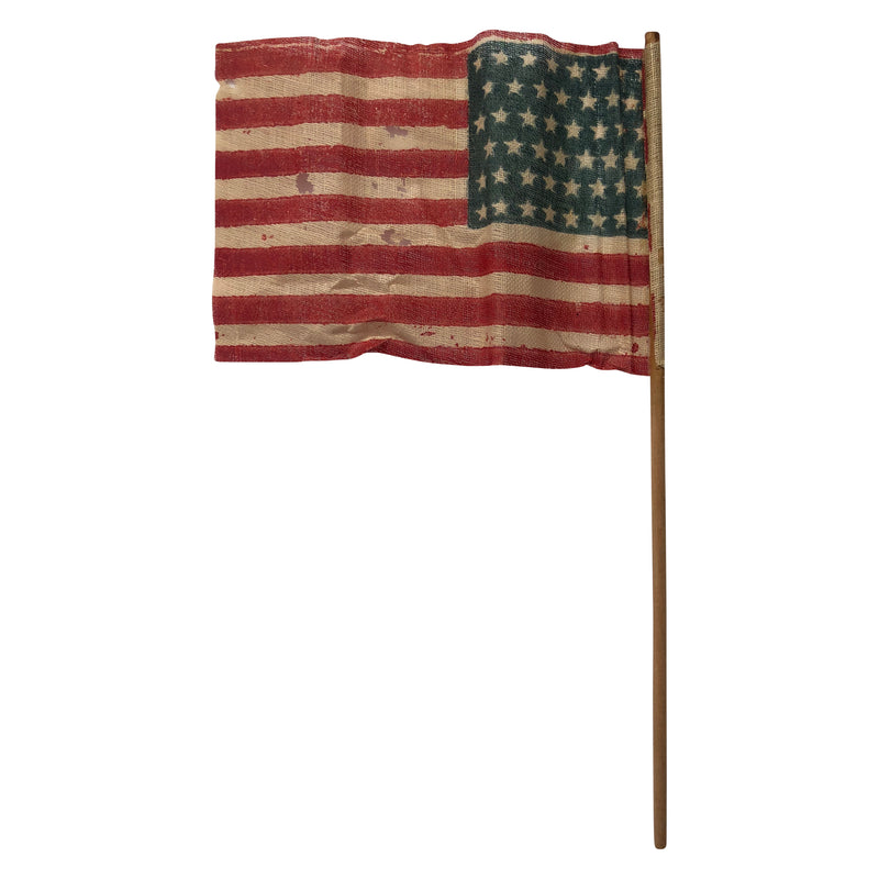 Vintage 46 Star Parade Flag - Small Size