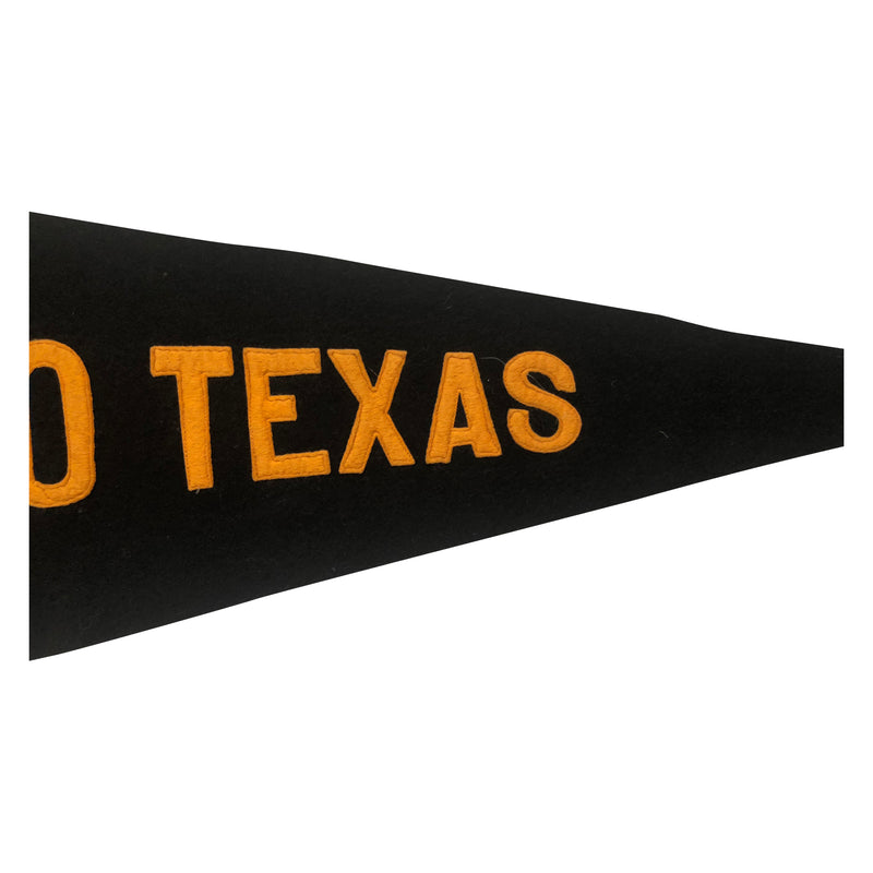 Vintage 48 Star Waco Texas Pennant - Sewn Letters