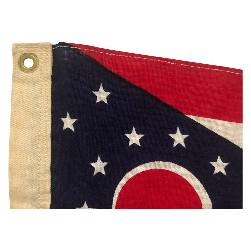 Ohio State Flag - Cotton Material - Small Size