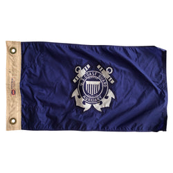 Vintage US Coast Guard Auxiliary Flag - USCG Size 4