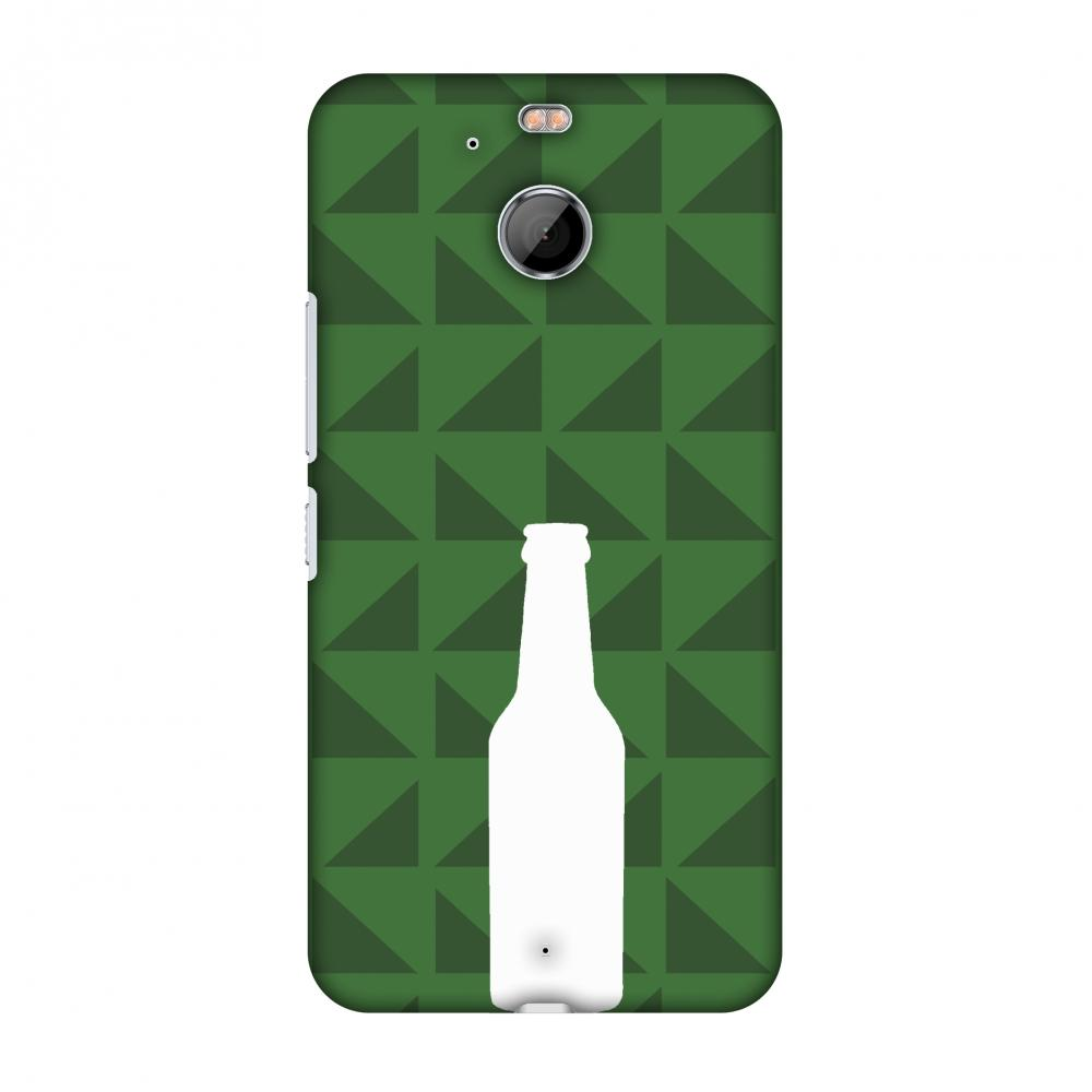 Beer And Pattern - Green Slim Hard Shell Case For