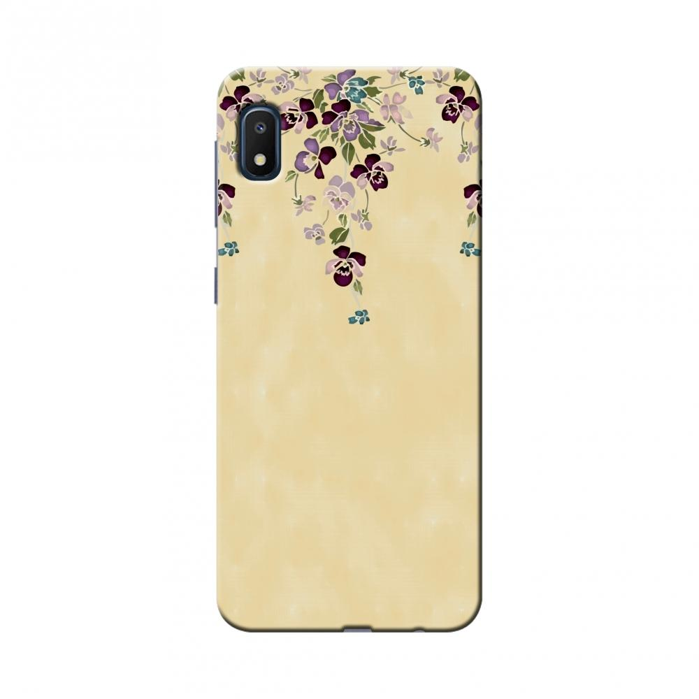 Butterfly poppy- Violet and pale yellow Slim Hard