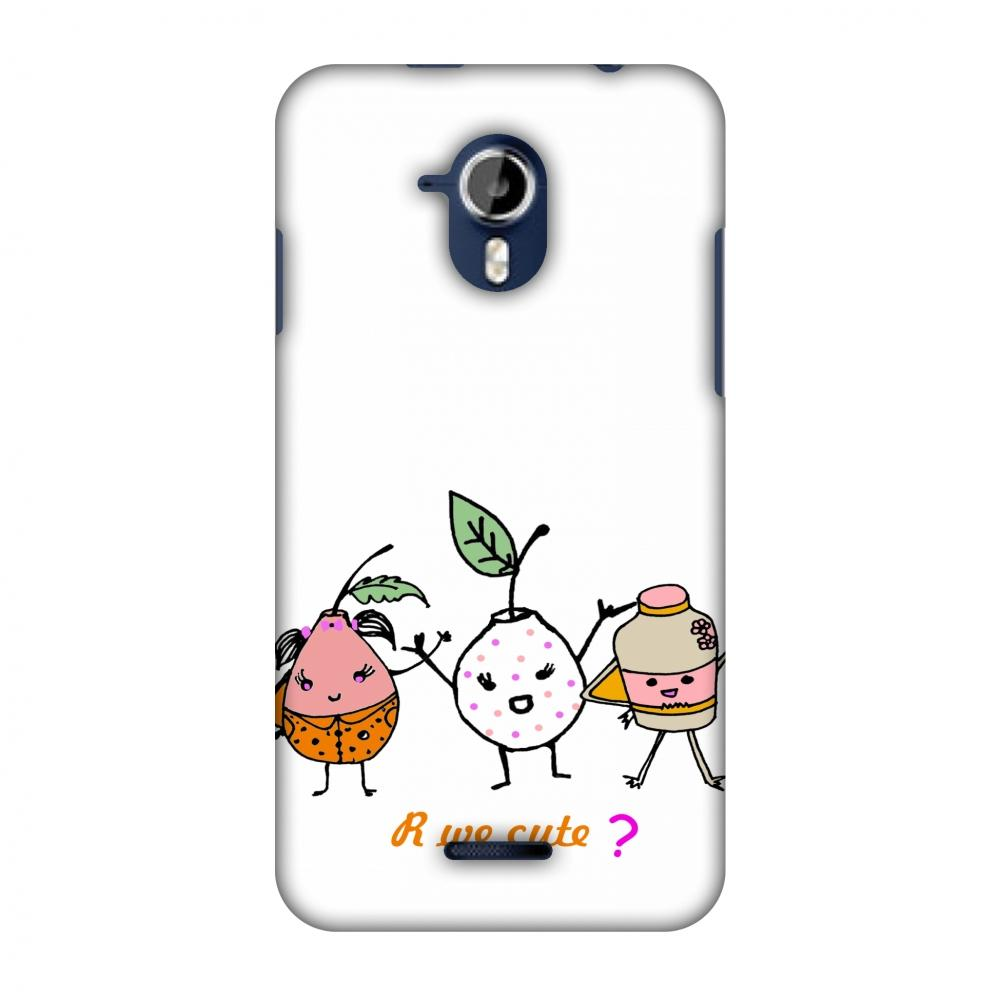 Are We Cute? - Transparent Slim Hard Shell Case