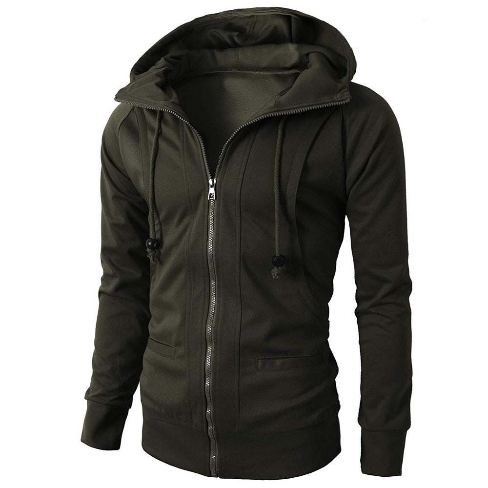 Men Solid Casual Regular Polyester Conventional Jacket