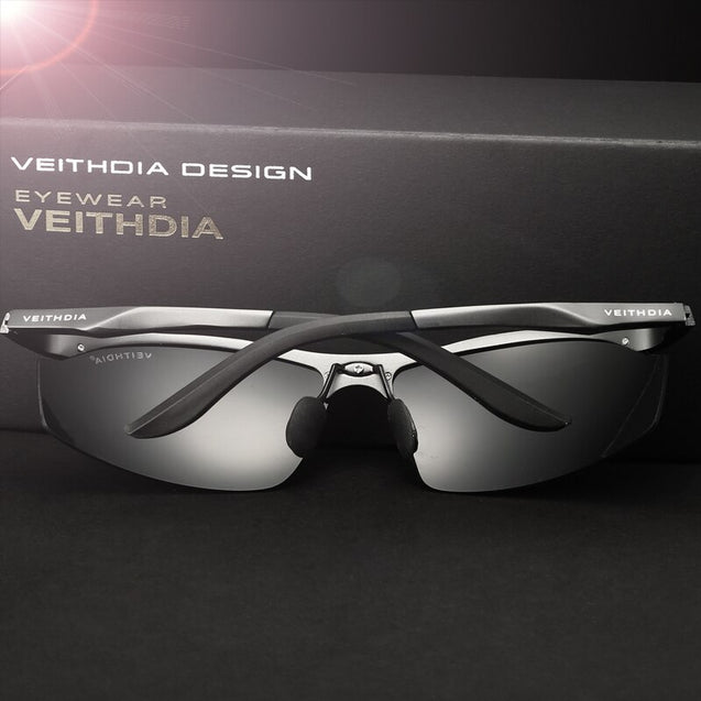 VEITHDIA Brand Aluminum Polarized Sunglasses Sports Men Sun Glasses Driving Glasses Goggle Eyewear Male Accessories shades 6529