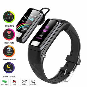 NEW H207 Sport Smart Men Watches Bluetooth Heart Rate ECG Calling Bracelet Measuring Pulse Smart Health With Fitness Male Watch