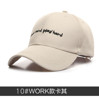 Men Sport Letter Embroidery Baseball Caps Hot Casual Cotton Hip Hop Snapback Hat Women Casquette Gorras Curved Tucker Cap