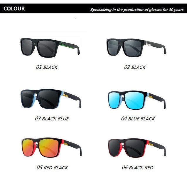 Oversized Polarized Sunglasses Men Women Sports Square Driver's Sun Glasses For Man Female Brand Design Shades Oculos De Sol UV