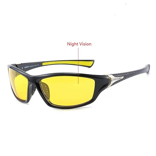 Men Women Polarized Sports Sunglasses Men's Goggles Driving Sun Glasses For Man Brand Design Shades Oculos De Sol UV Anti-glare