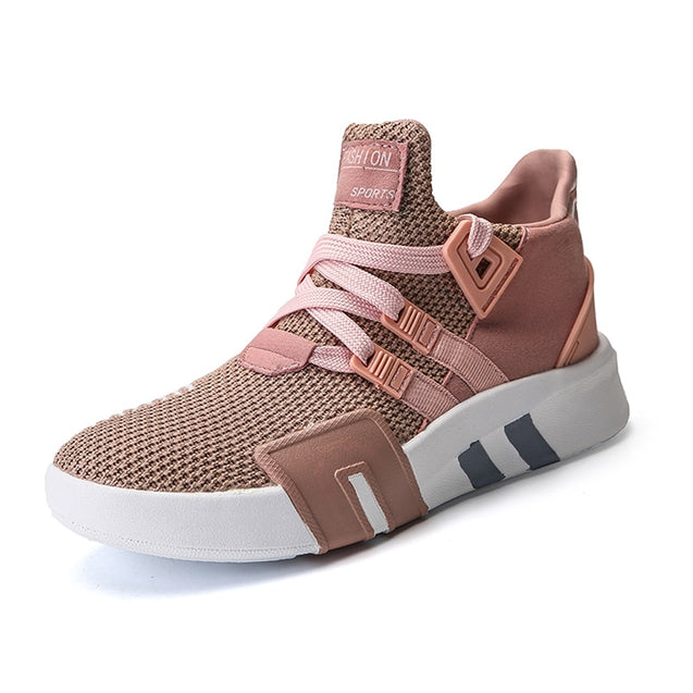 Tenis Feminino 2020 High Top Women Light Soft Gym Sport Shoes Women Tennis Shoes Female Stability Athletic Sneakers Pink Trainer