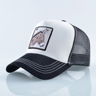 Unisex Cotton Snapback caps for men Embroidery wolf Baseball Cap Women's Breathable Mesh Trucker Bone rooster Hip Hop hats