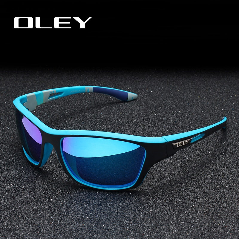 OLEY Polarized Sunglasses Men's Driving Shades Outdoor sports For Men Luxury Brand Designer Oculos Customizable logo YG202