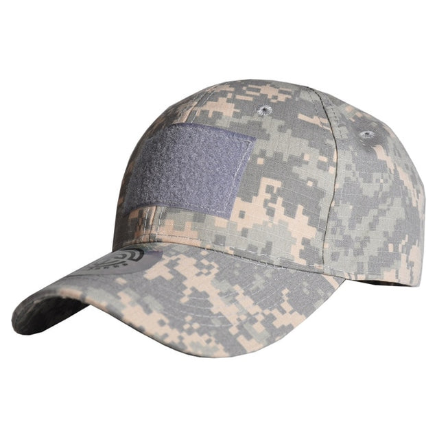 2020 Outdoor Sport Snap back Caps Camouflage Hat Simplicity Tactical Military Army Camo Hunting Cap Hat For Men Adult Cap
