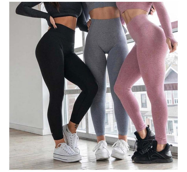 Seamless Yoga Set 2Pcs Women Gym Fitness Yoga Clothing Sports Wear Female Workout Leggings&Top Yoga Suit Training Tights Wear