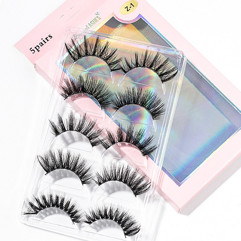 15-25mm 3D Faux Mink Eyelashes | 5 Pairs | Long Eye Lashes Handmade"|800|800|?|False|2ceee5e8158e580a9c43db48b4ff6acd|False|UNLIKELY|0.3518376052379608