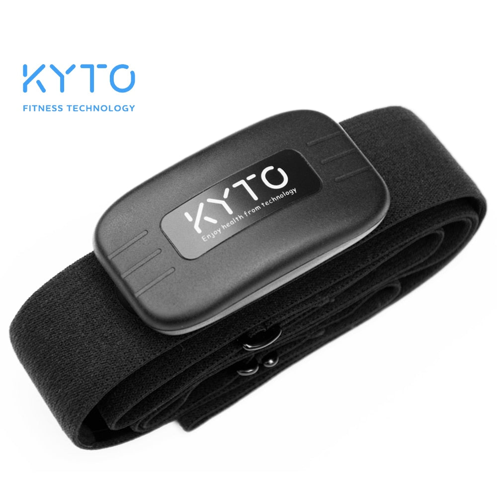 KYTO Heart Rate Monitor Chest Strap Bluetooth 4.0 Belt | Fitness Smart Sensor Waterproof Equipment