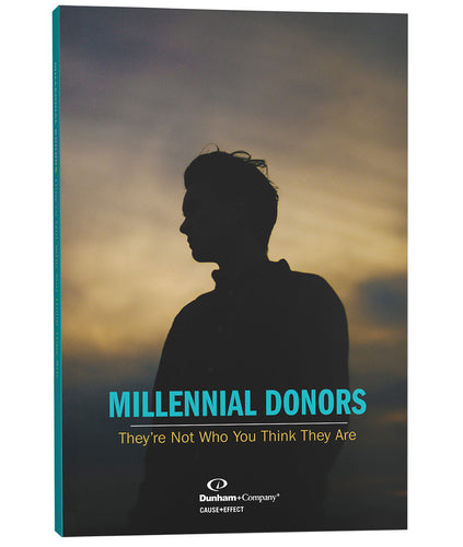 'Millennial Donors: They're Not Who You Think They Are' Paperback Package (Printed Book + PDF)