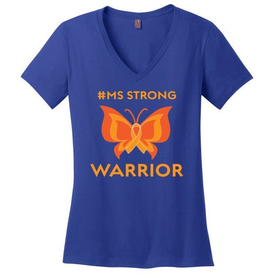 MS Strong Multiple Sclerosis Women's Strong Awareness