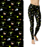 Beach Party Margaritas  Leggings