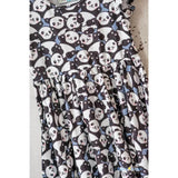 Playful Panda Twirl Dress
