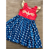 Wonder Girl Twirl Dress
