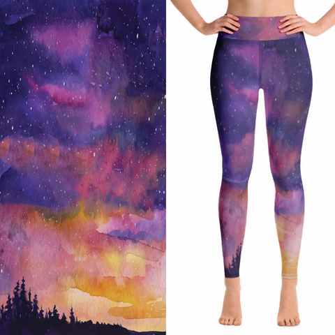 Concealed Carry Galaxy Leggings