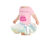 First Birthday Outfit with Tutu