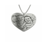 Family or Couple Photo Pendant