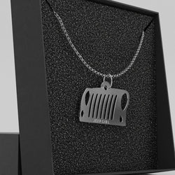 Jeep Grill Necklace