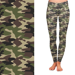 Concealed Carry Camo Leggings