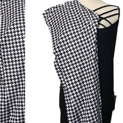 Custom Black and White Houndstooth Leggings