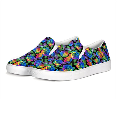 Tie Dye Jogger Slip-On Canvas Shoe